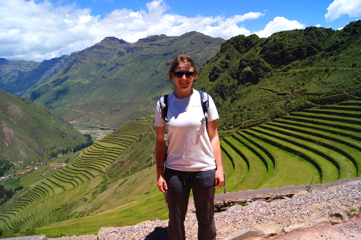 Hurray, made it to Pisac!