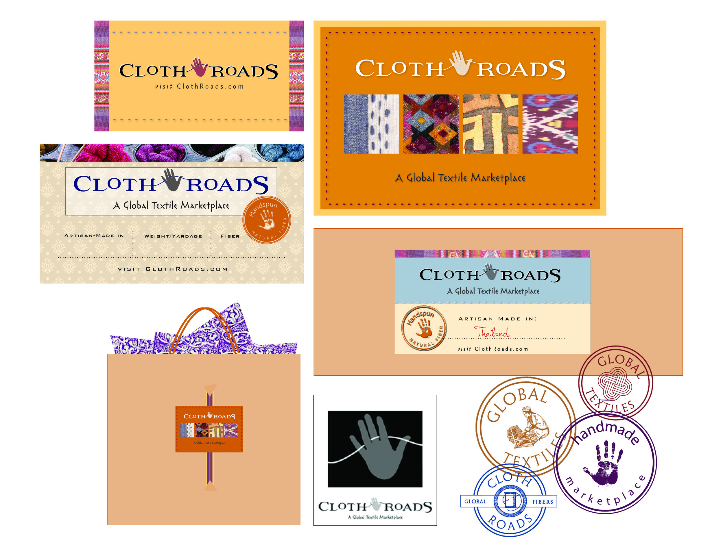 ClothRoads Branding Materials