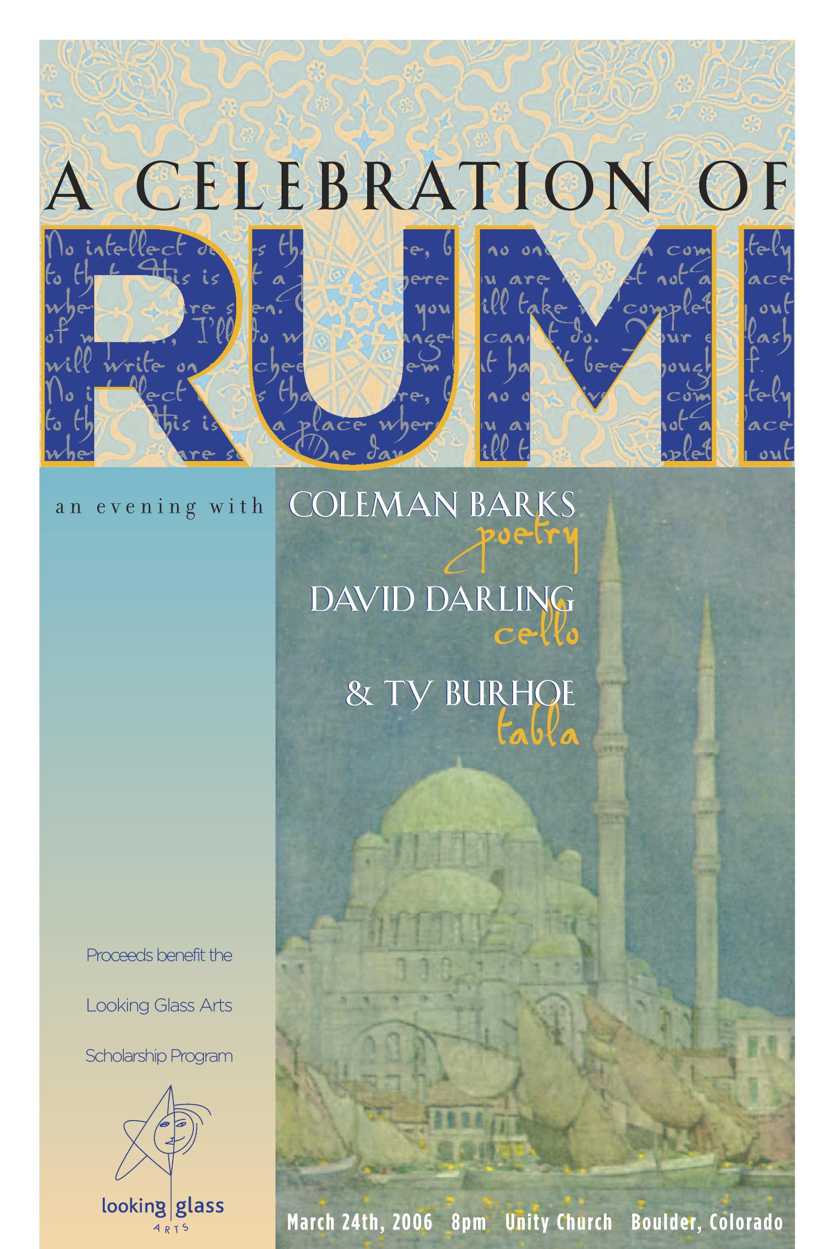 Rumi Tribute Poster