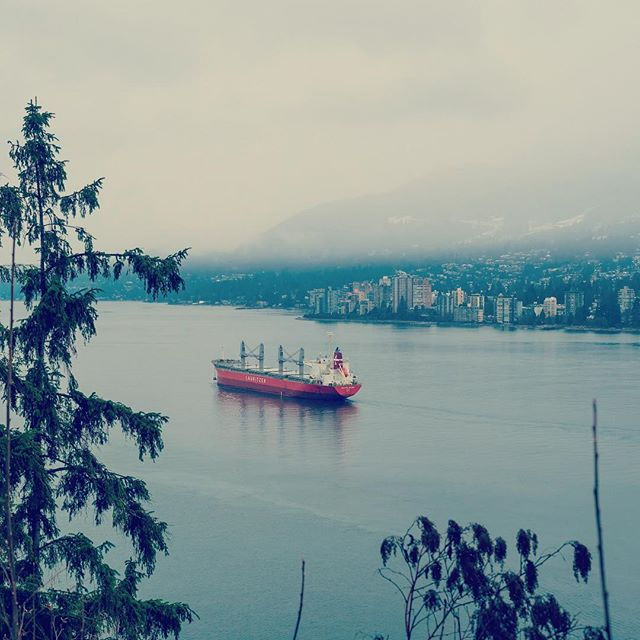 A bit late to post this, but still gorgeous. Gotta love the winter #vancouver #winter #canada #boat
