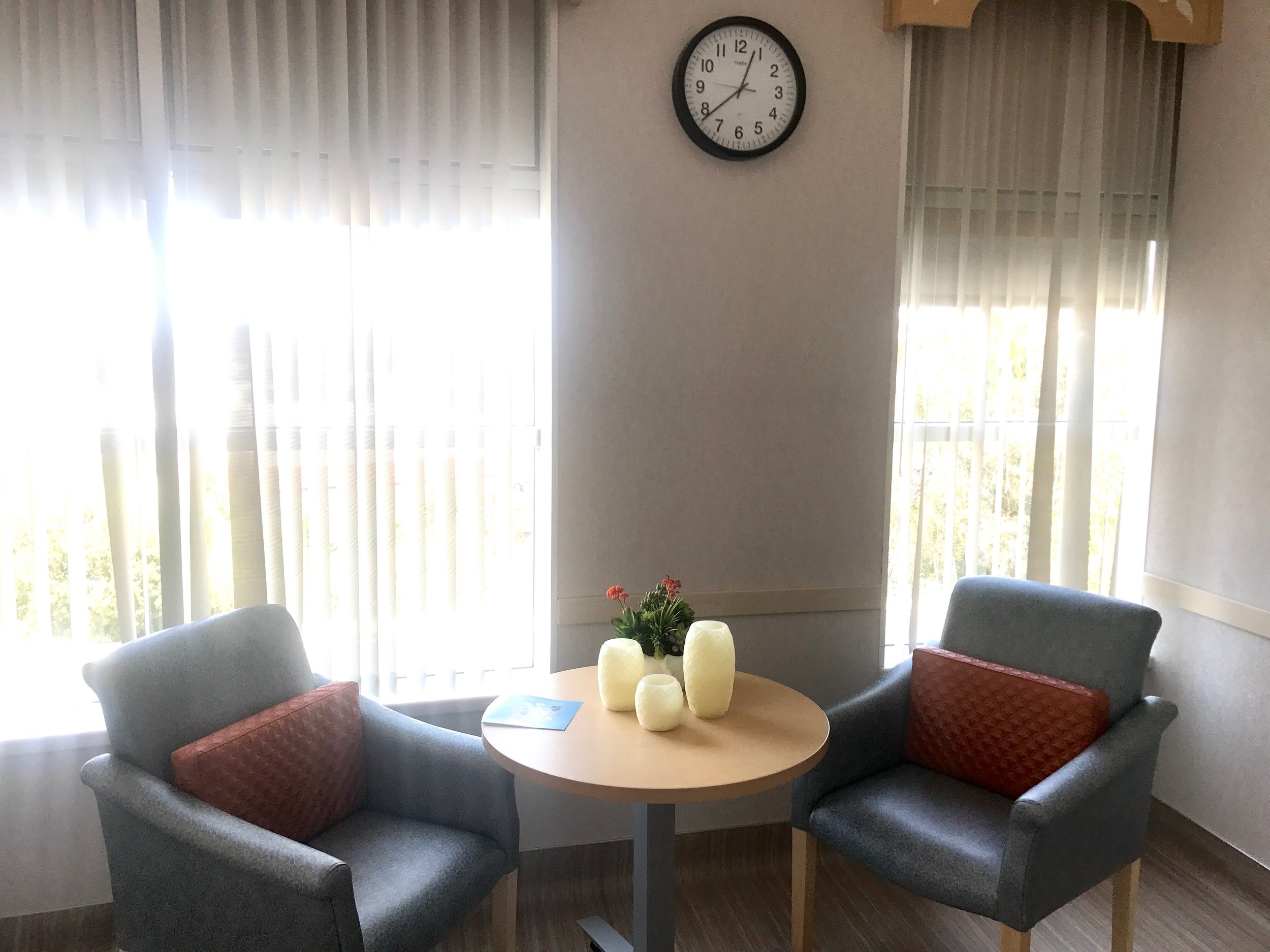 Mission Midwifery Suites Chairs