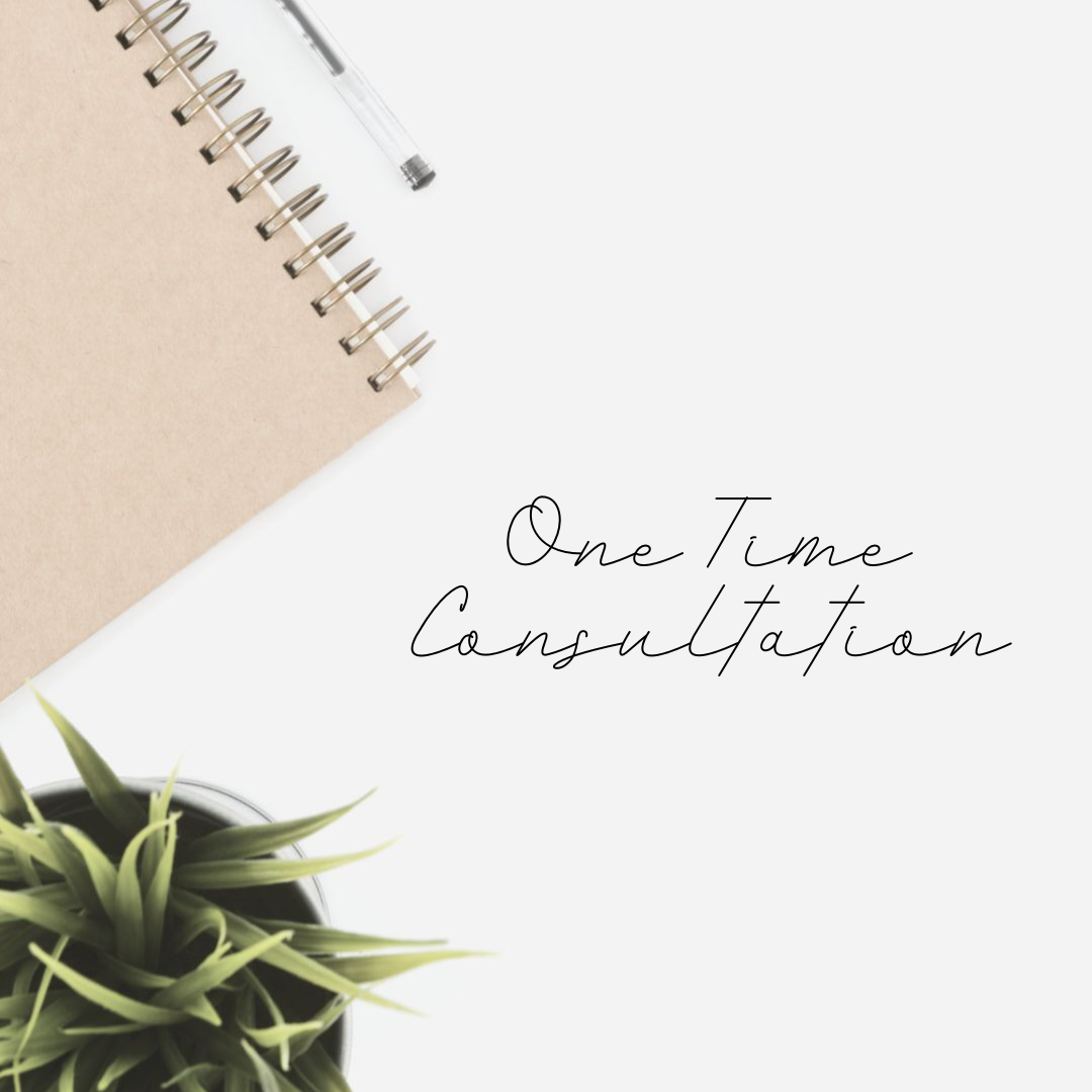 One Time Consultation