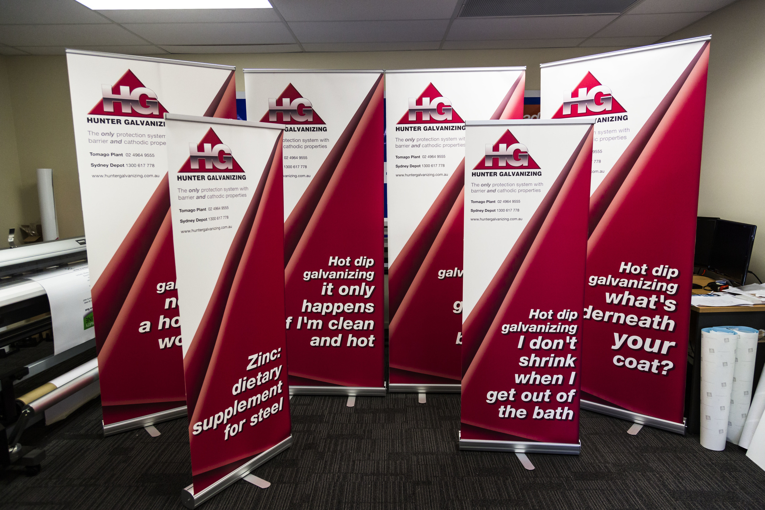 Promotional Pull Up Banners
