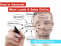 How to generate more leads & sales online