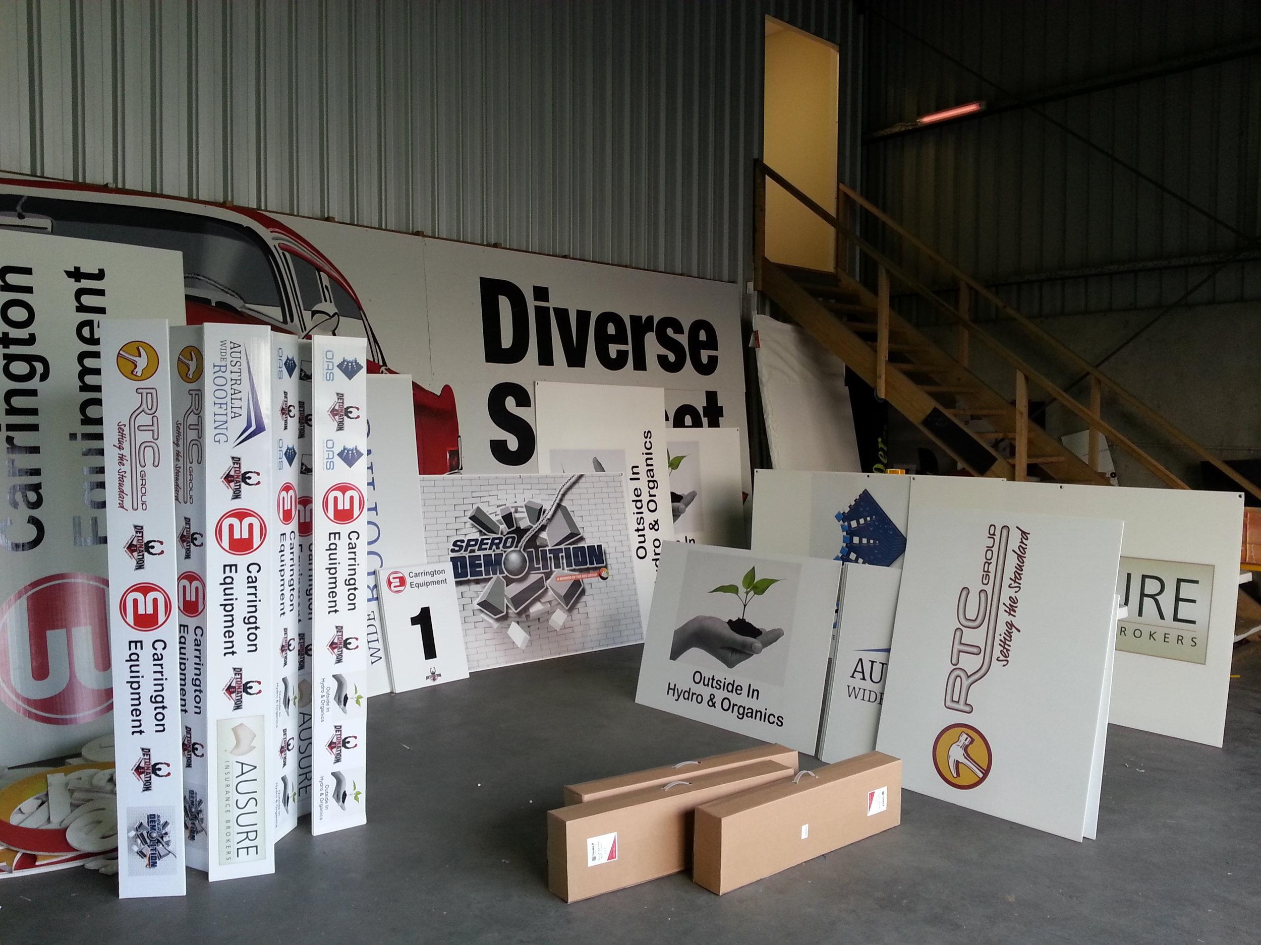 detonation boxing promotional signs.jpg