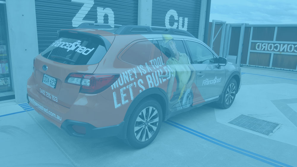 vehicle graphics - VIEW GALLERY