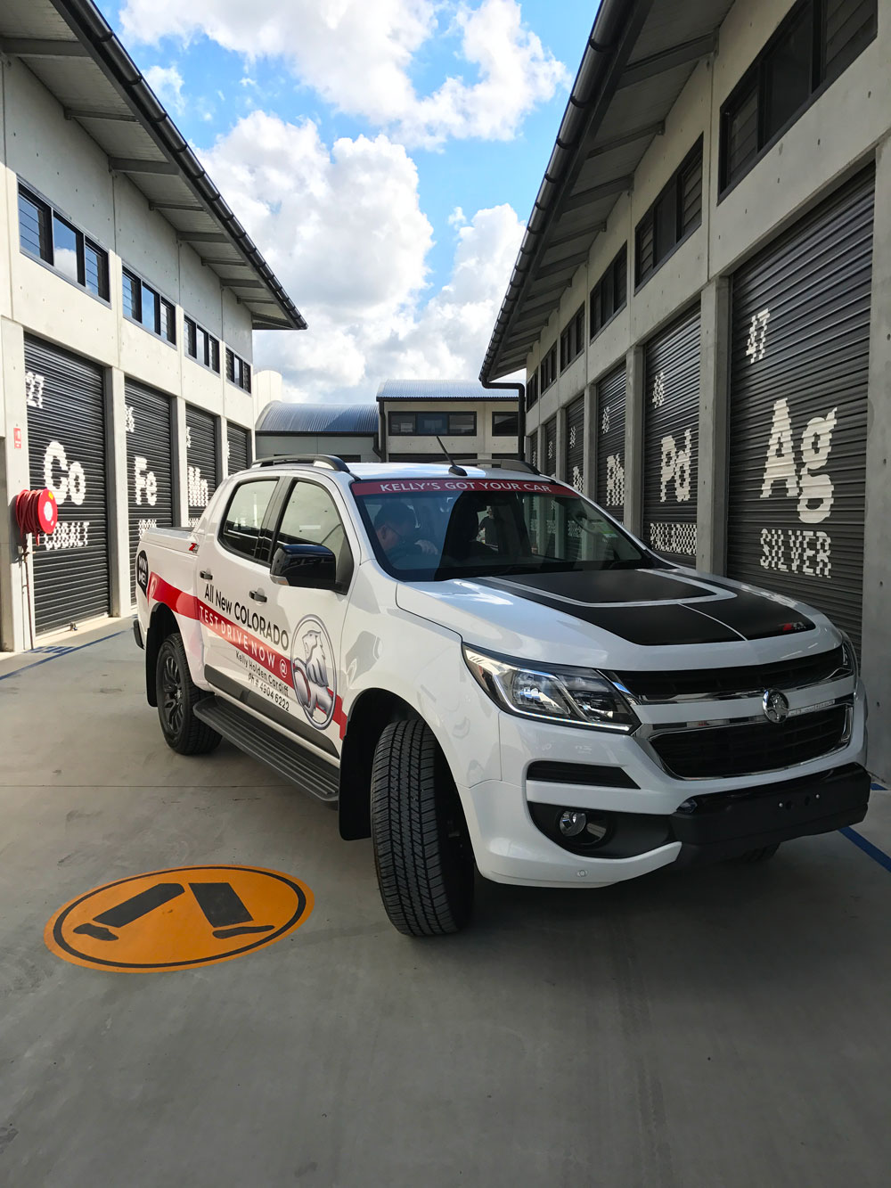 Check it out for yourself.  - Head down to the Cardiff dealership and take the new Holden Colorado for a test drive today!