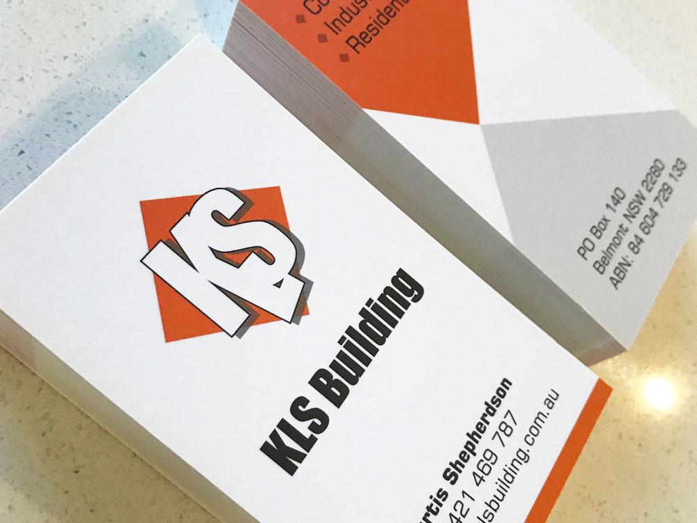 KLS business cards