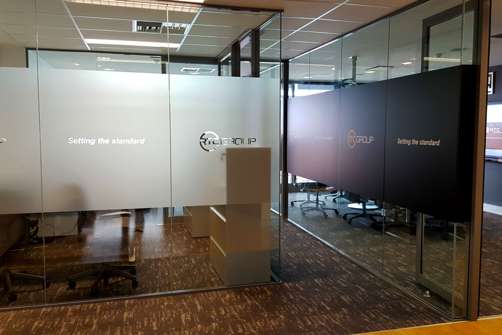 Interiors - Capture your clients attention with visually appealing front entrance and meeting room areas