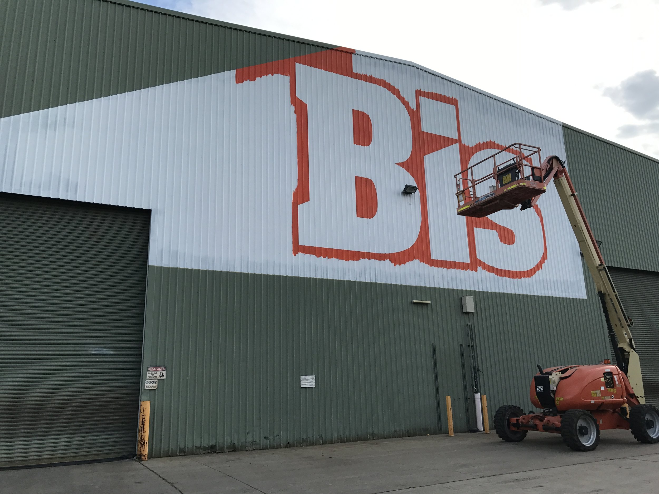 think graphic communication  Bis signs hand painted.JPG