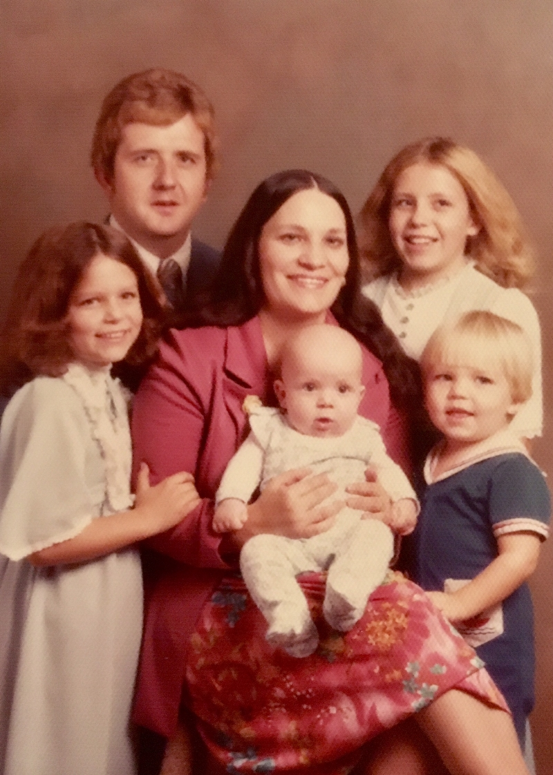In case you're wondering, I am not the cute little bald guy in the center of this picture. No, I am the sailor with the dutchboy haircut. Hey, what can I say? My dad saved so much money putting that salad bowl on my head before the haircuts started.