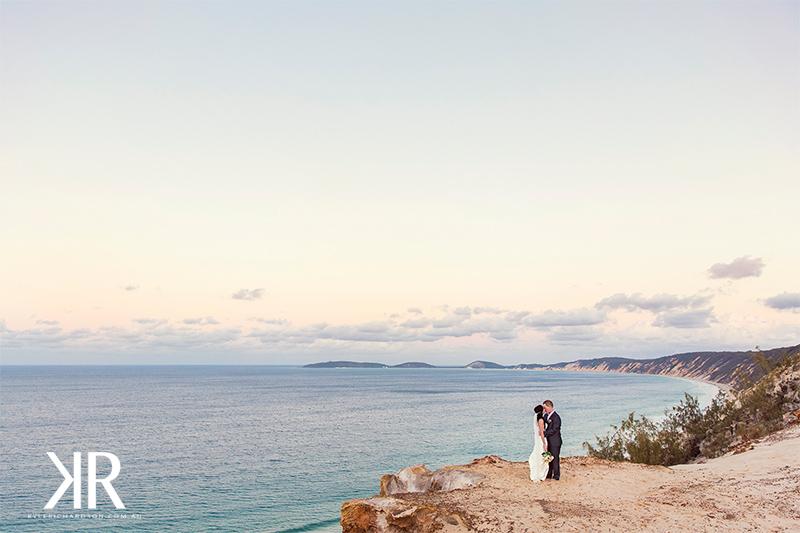Rainbow beach wedding photographer 9