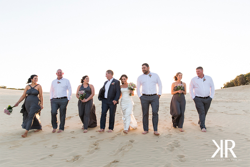 Rainbow beach wedding photographer 7