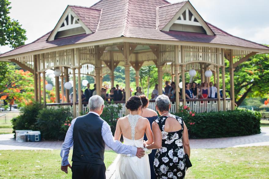Brisbane New Farm Park Wedding Ceremony