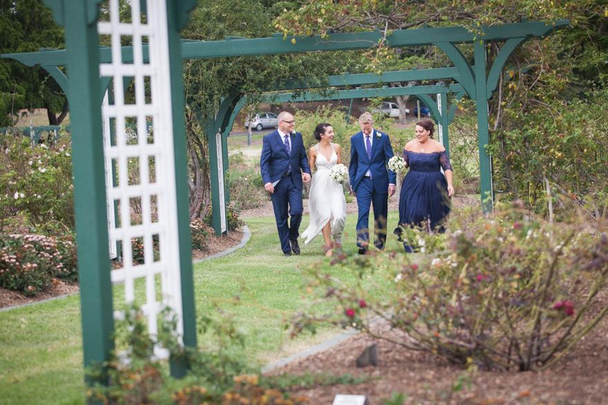 New Farm Park wedding photography