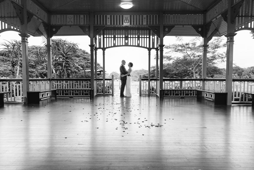 New Farm Park wedding rotunda