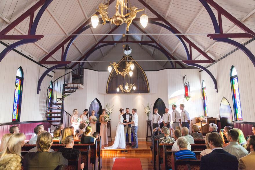 Broadway Chapel wedding ceremony