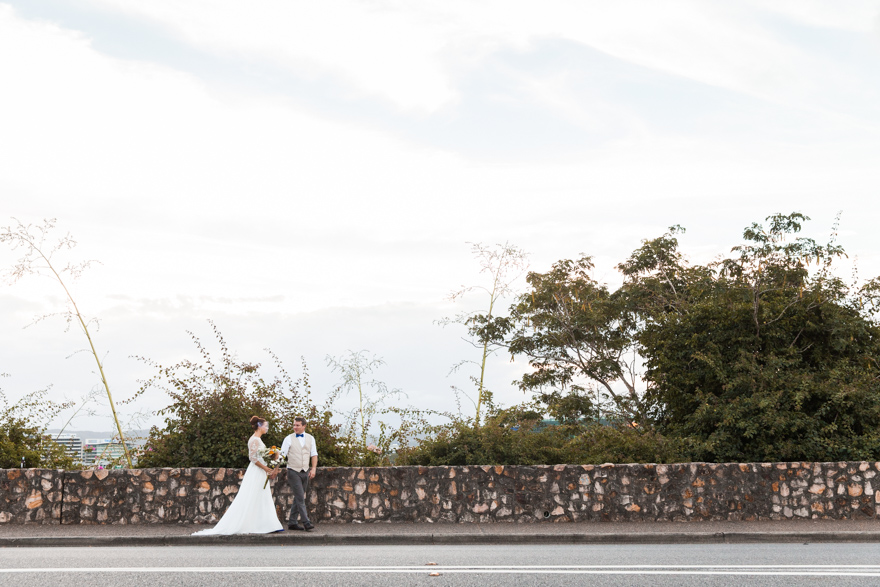 Kangaroo point cliffs wedding photography