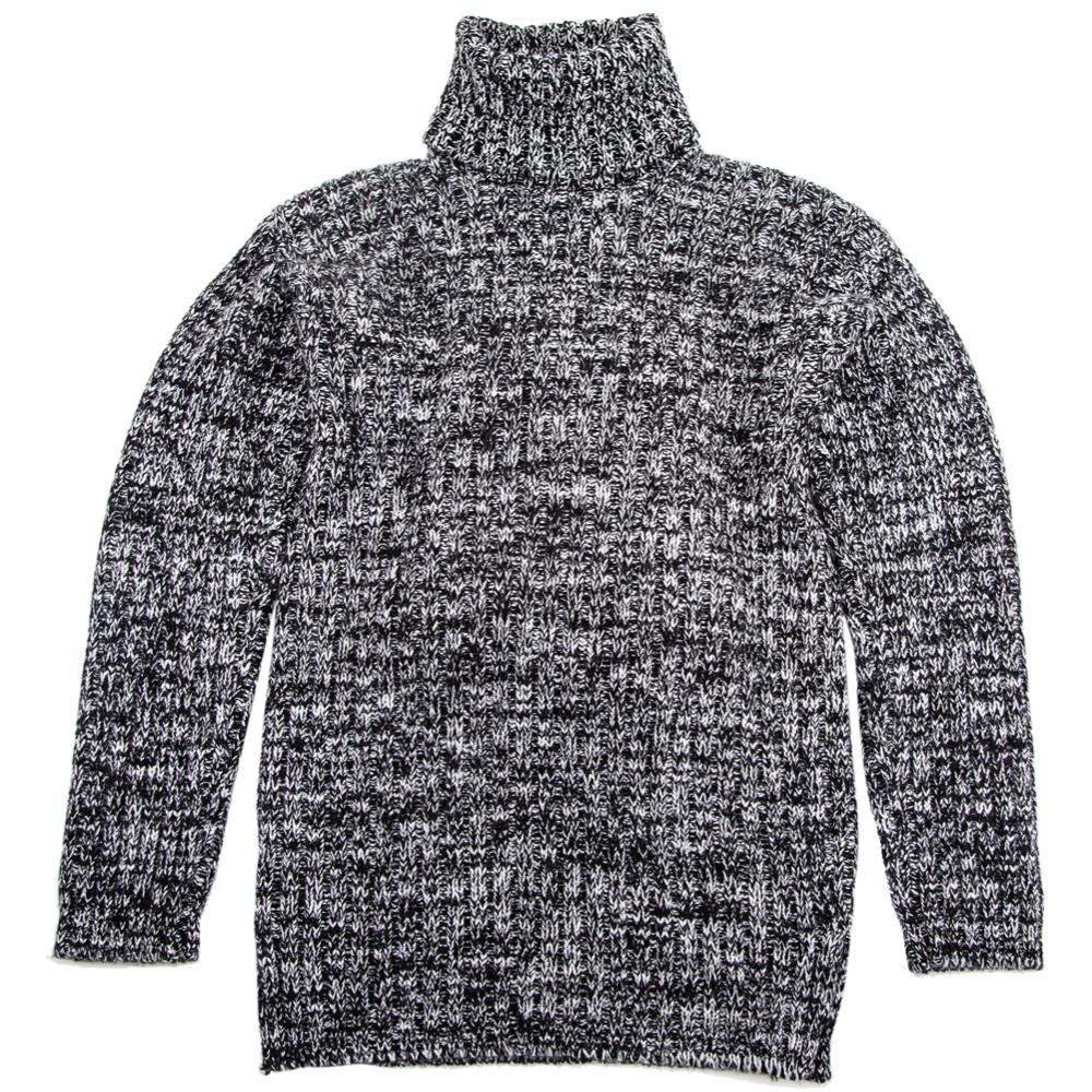 editionoo4-mens-rollneck-cashmere-chunky-sweater-black-white-flat