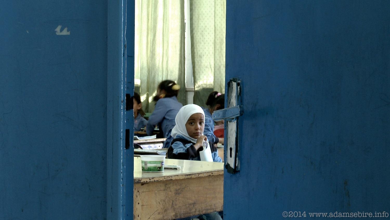 School children, UNRWA Refugee Camp, Jordan