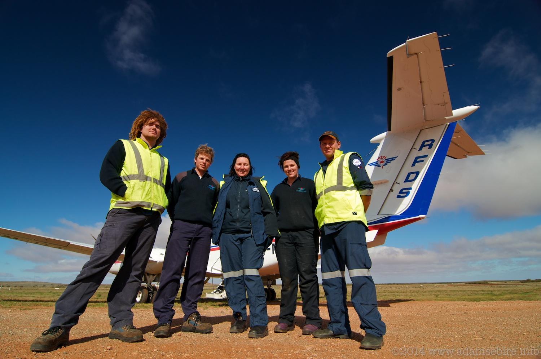 RFDS Broken Hill Base Staff