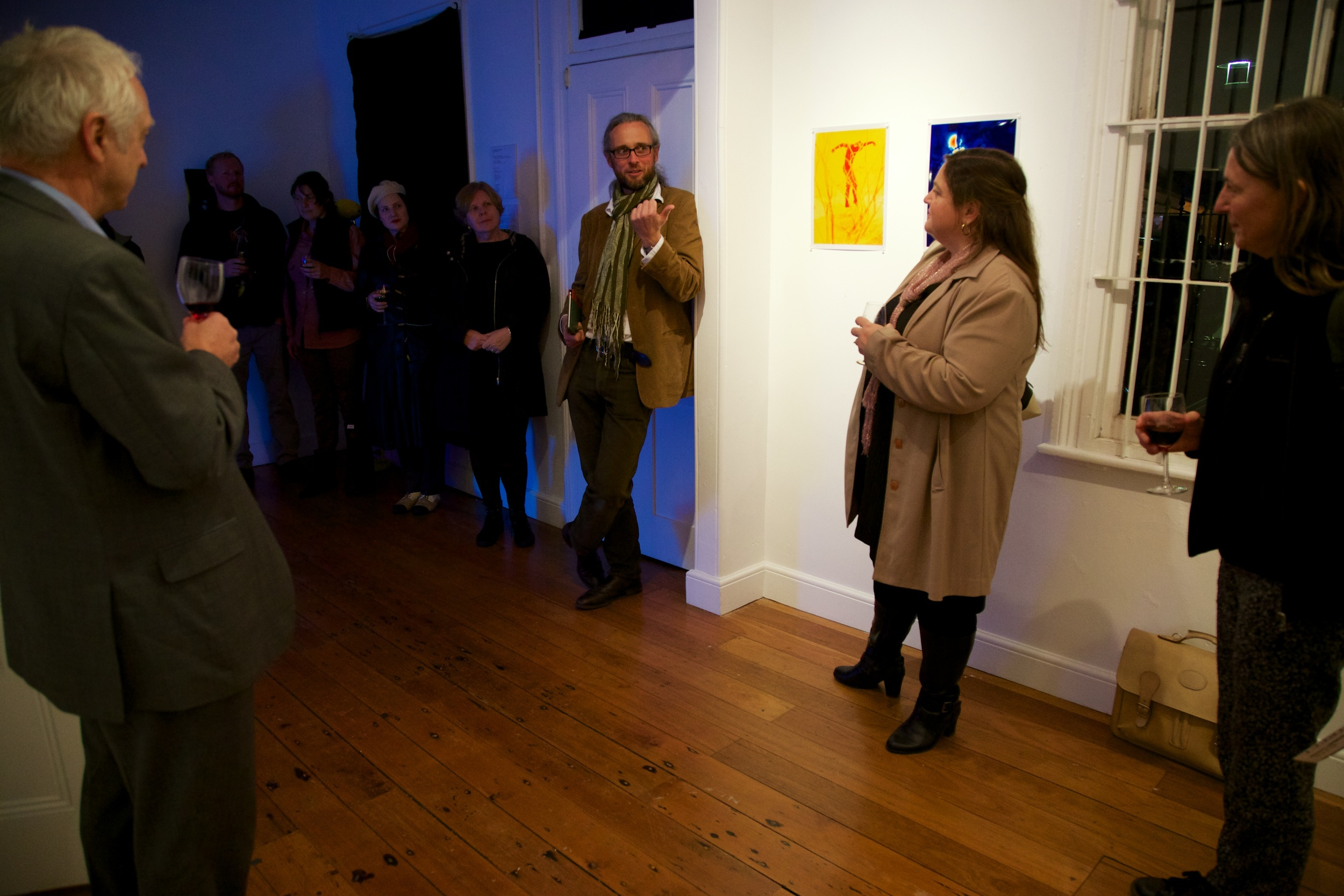 Adam Sebire — Artist Talk