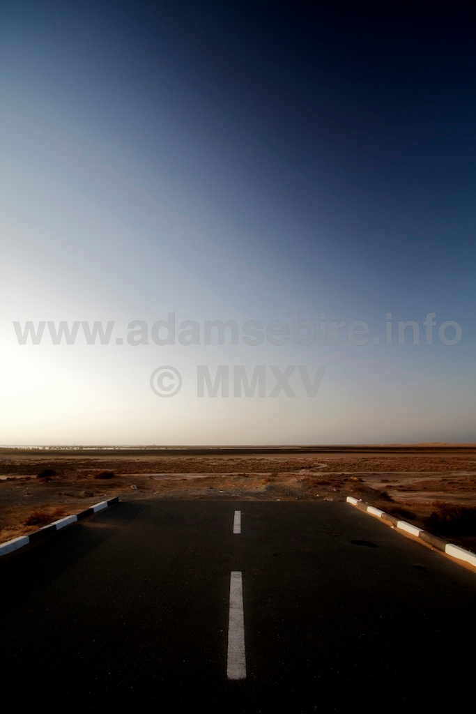"Road Nº5 from the series ""Roads to Nowhere"" — Dubai and the global financial crisis (GFC)."
