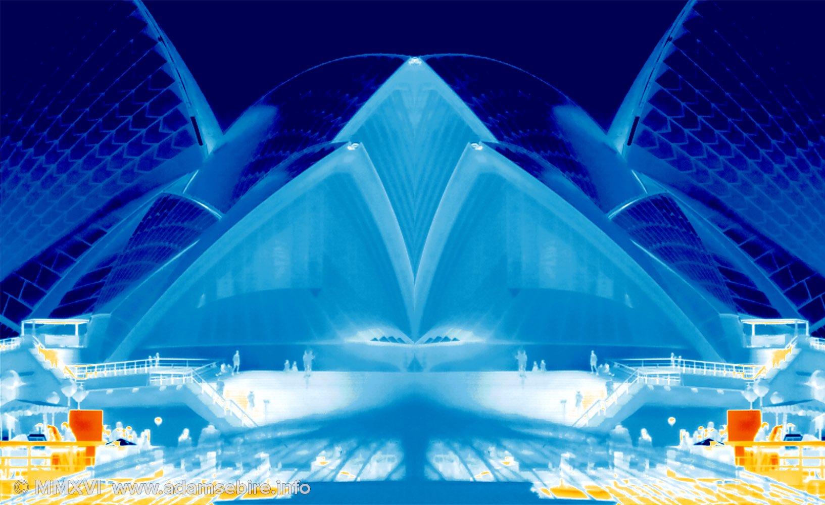 Infrared thermal imaging art IR001516