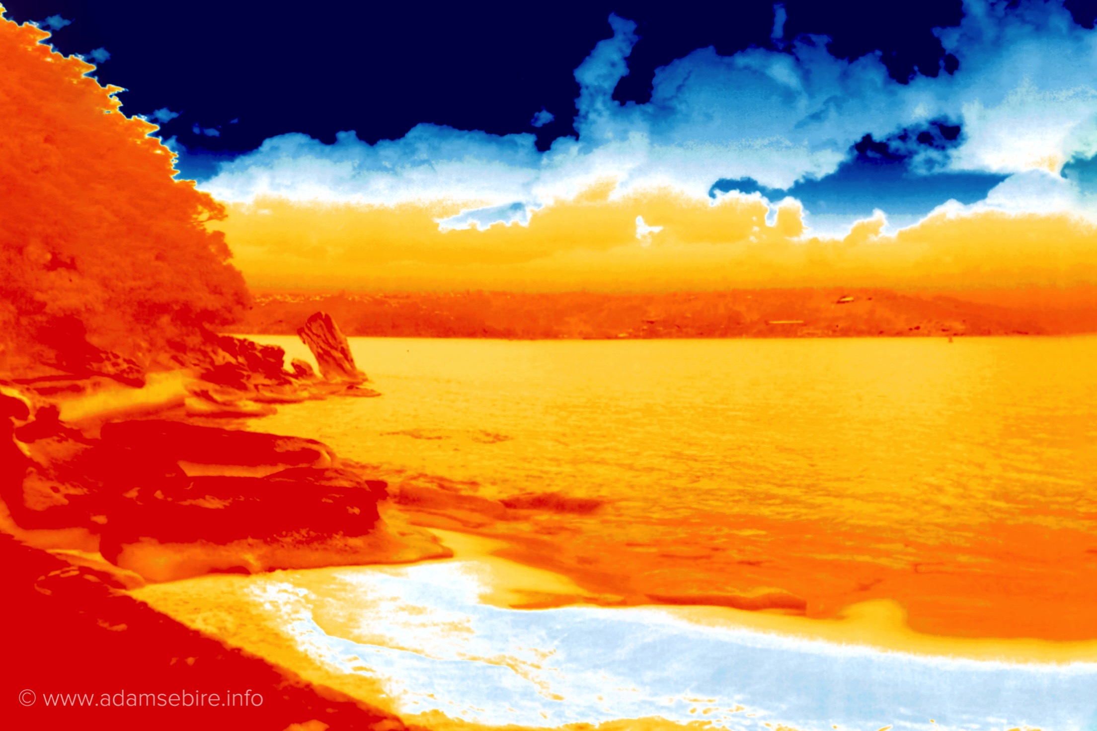 Infrared Thermal Landscape IR001466