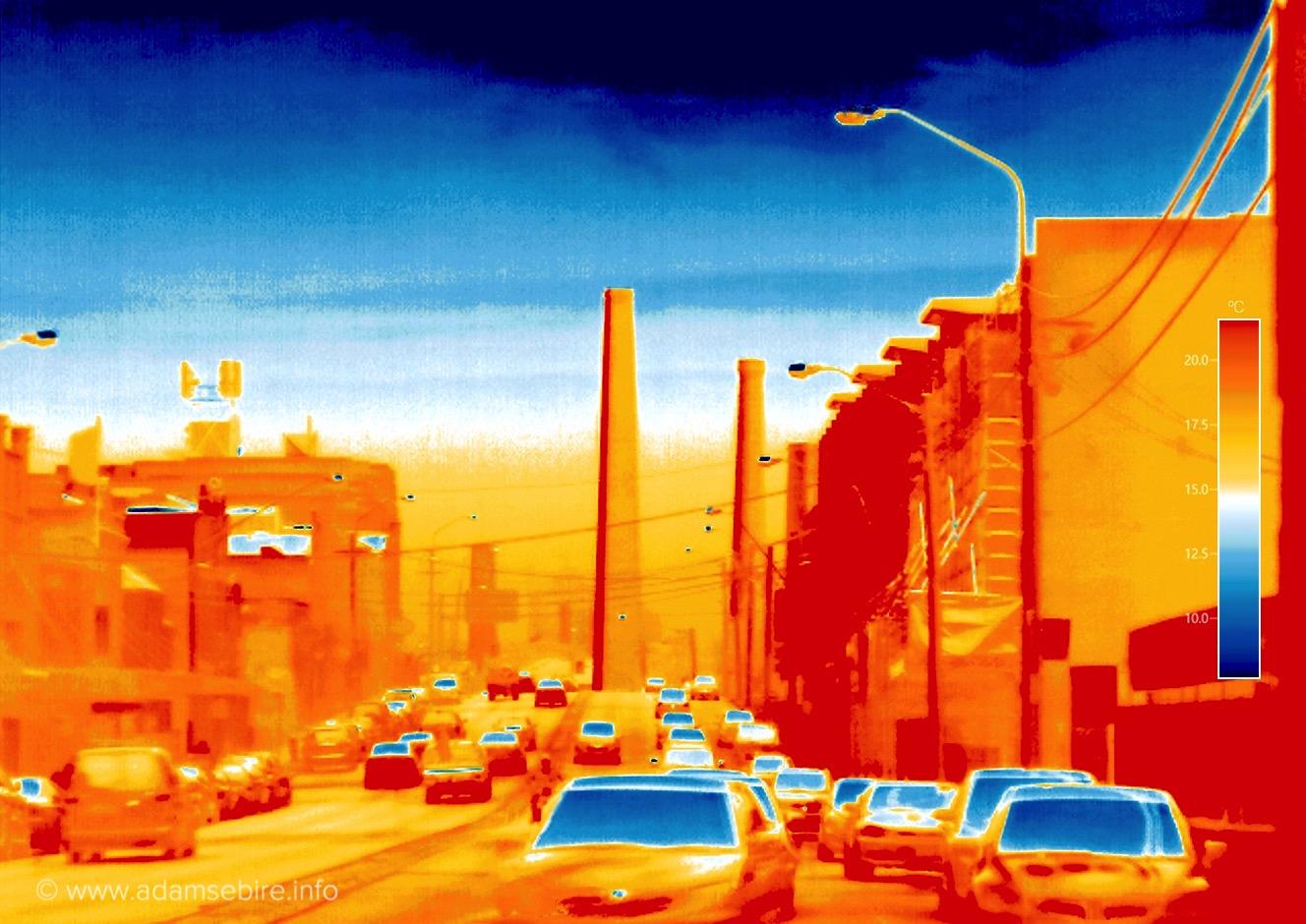 Anthropocene thermal image #IR001889