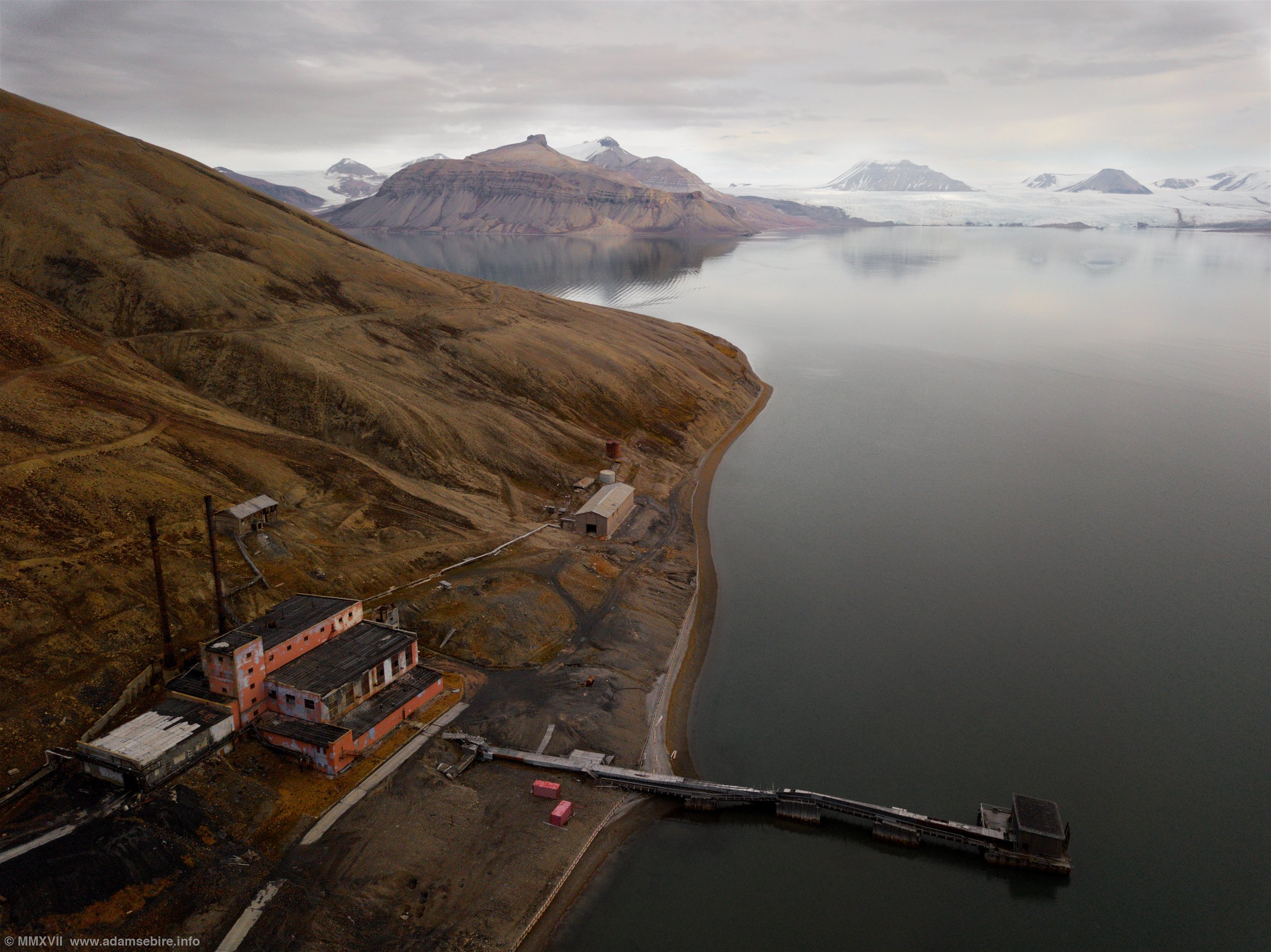 Pyramiden Power Station