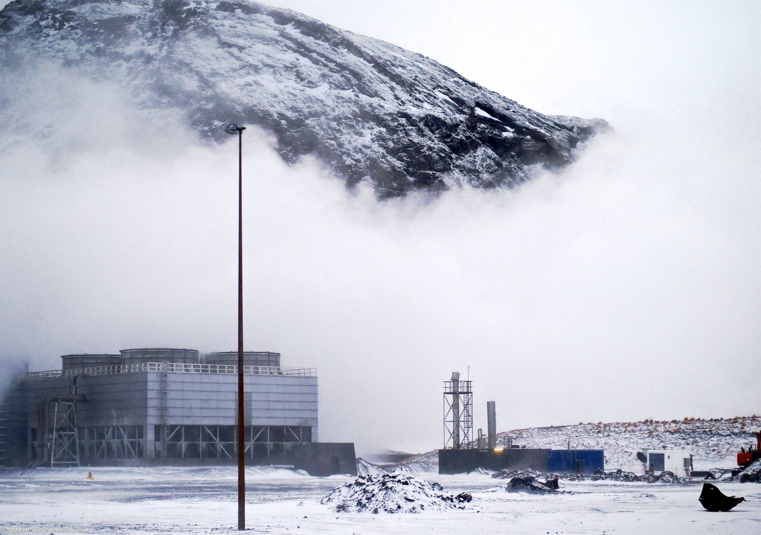 CO₂ DAC (Direct Air Capture) unit, Climeworks / CarbFix2 Hellisheiði geothermal power plant, Iceland