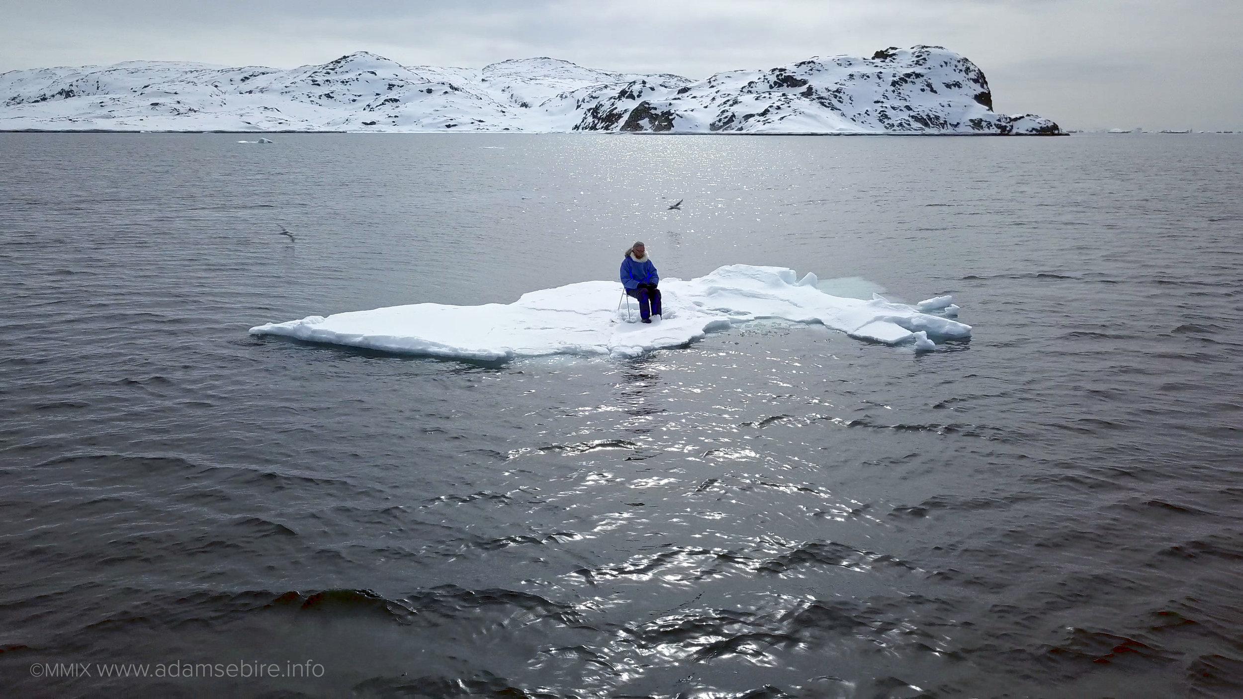 Sea Ice Project on the iceberg 1.jpg