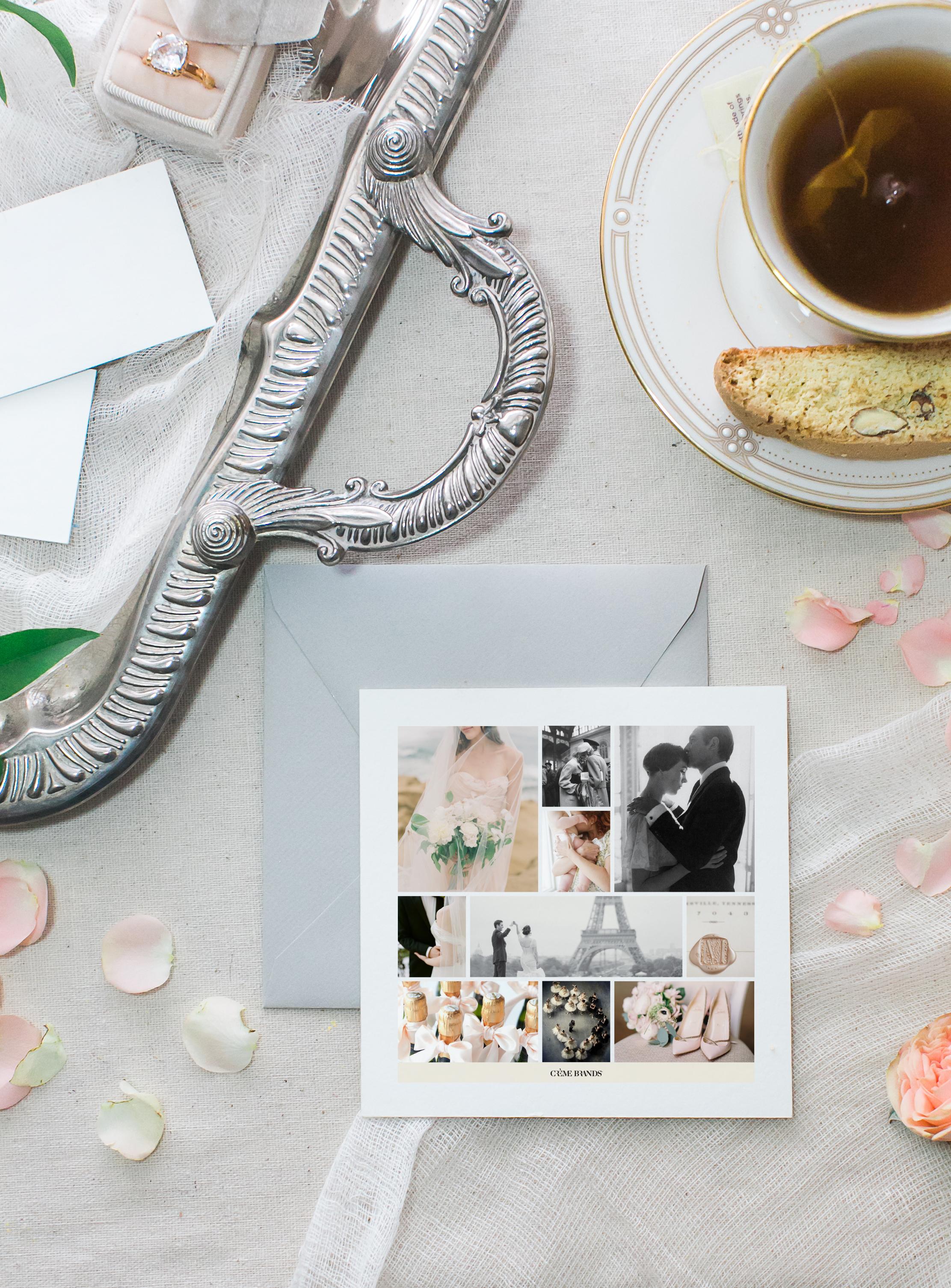 brand design timeless wedding strategy by Crème Brands