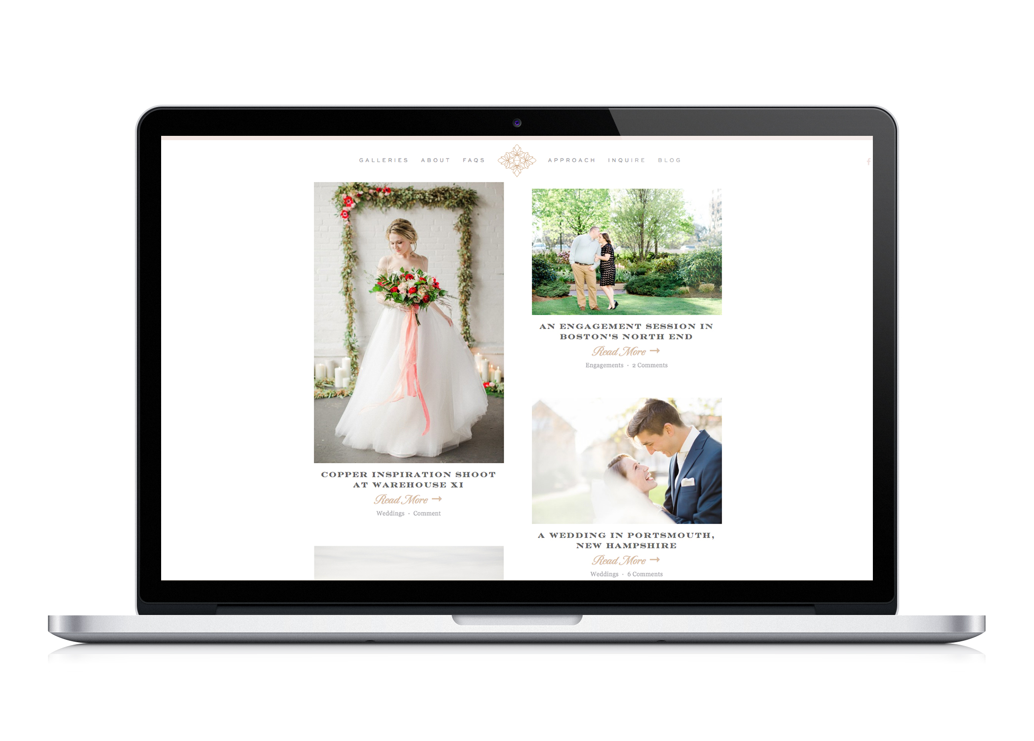 timeless unique branding for wedding photographers by Crème Brands