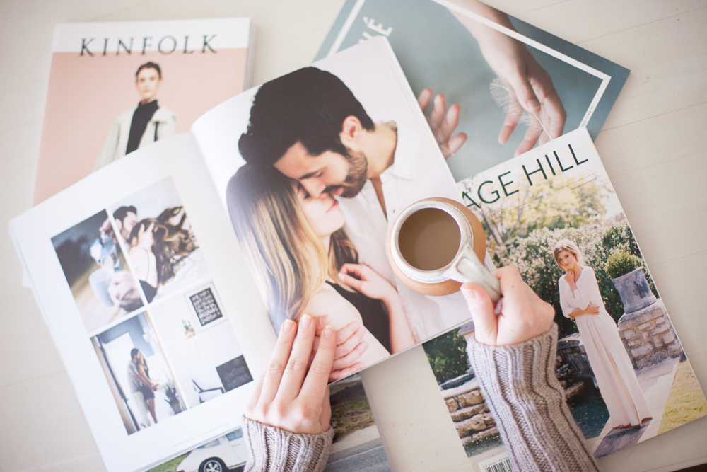 Cottage Hill Brand and magazine design by Kathryn Duckett