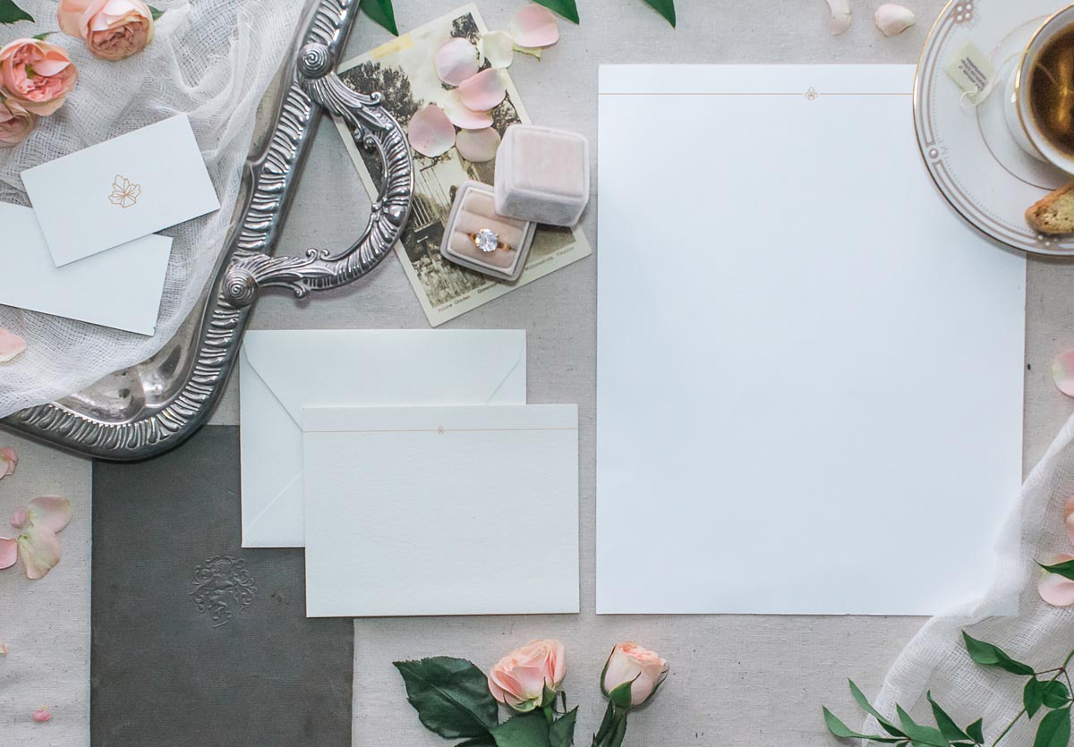 best high quality branding for wedding professionals by Crème Brands
