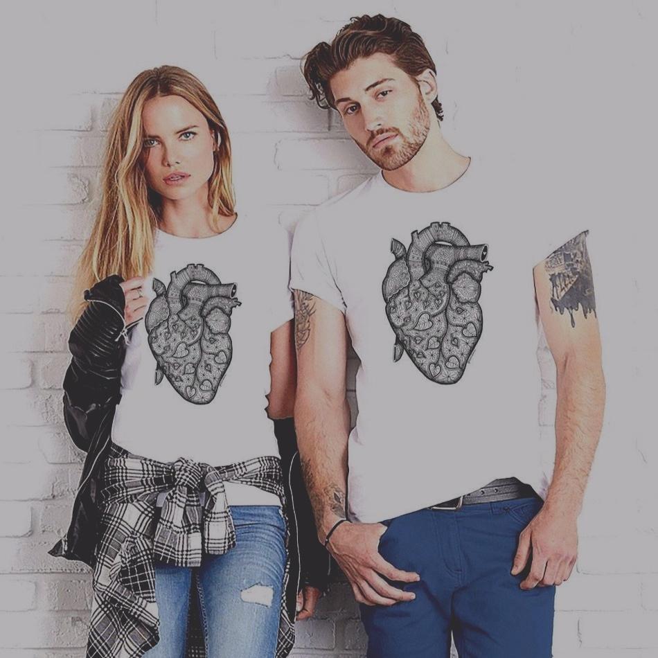 Szívtetkó póló - Heart with Love T-shirt