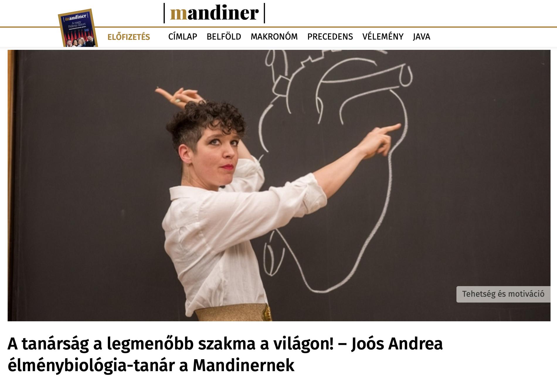 Mandiner - INTERJÚ