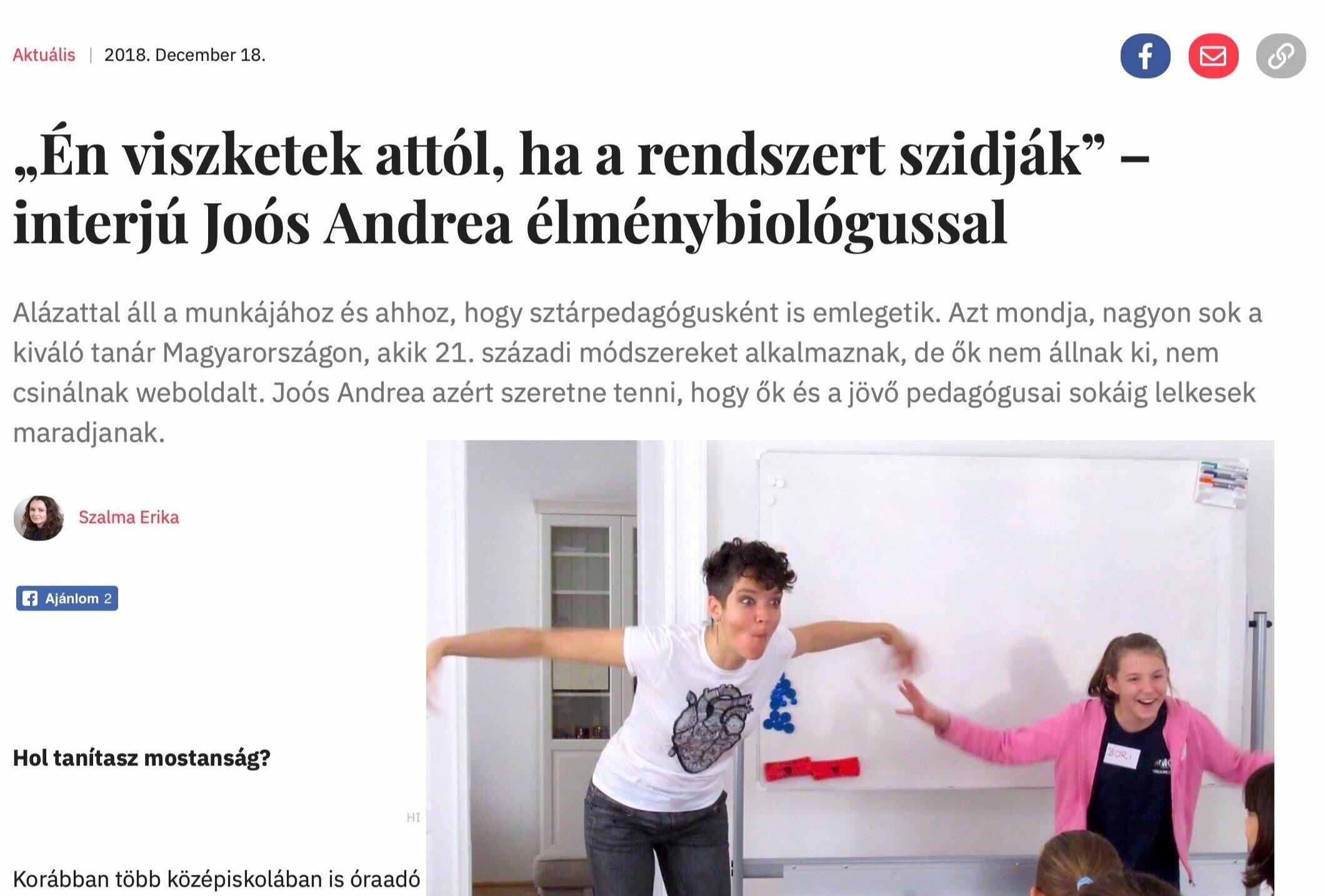 Nők Lapja Café - INTERJÚ