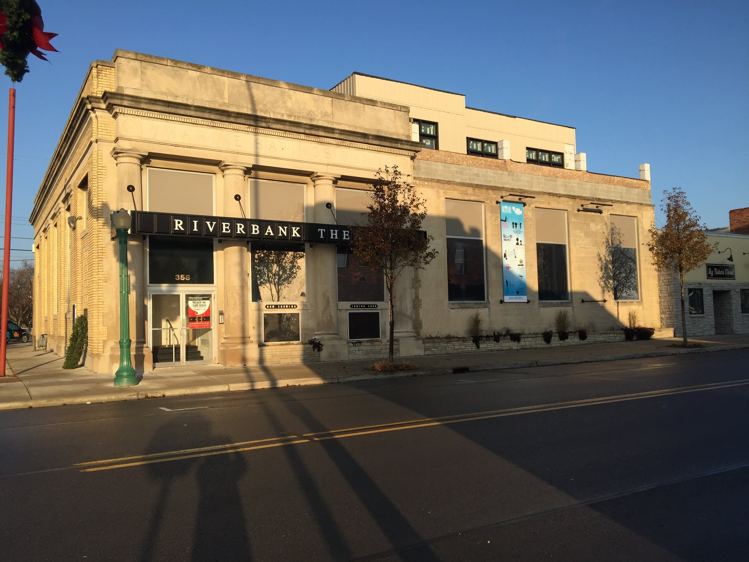 Riverbank Theatre, 358 S. Water St.