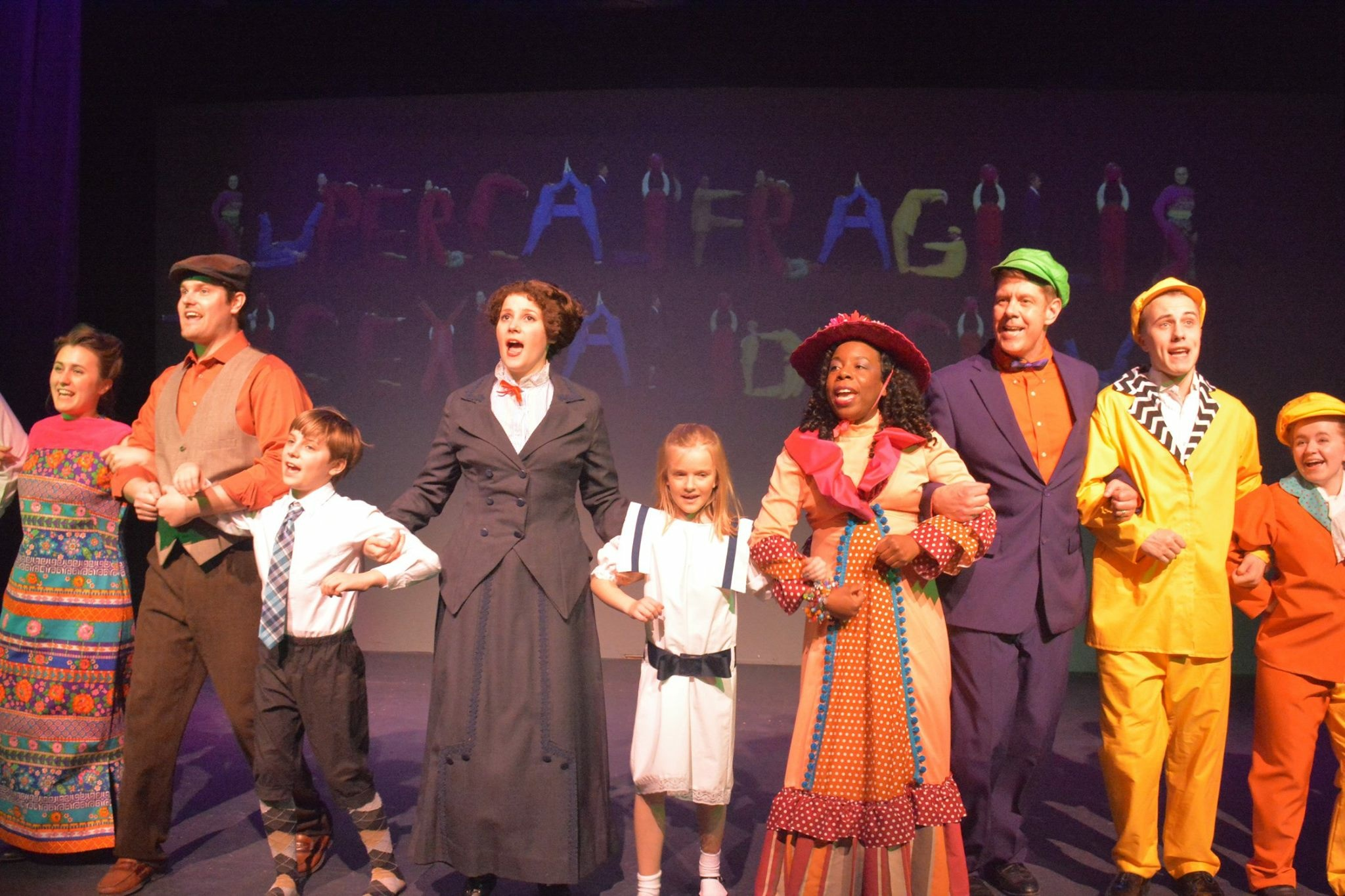 Mary Poppins at Riverbank Theatre