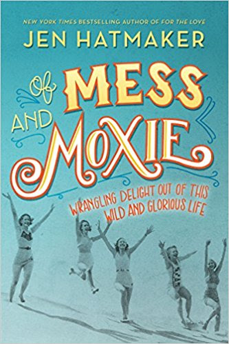 - Of Mess and Moxiecertainly qualifies as religious nonfiction; Jen Hatmaker is relatively famous in evangelical circles, and many of the essays in this collection are about church and life in faith. But if you're not particularly religious, I wouldn't let those descriptions prevent you from diving into this one. Jen is both funny and poignant; her wisdom is applicable outside the boundaries of faith, and her snarky commentary on everything from Netflix to parenting to home decor is much-needed.Jen is a breath of fresh air; she's both self-depricating and thoughtful, and I think Of Mess and Moxie is her best book yet.