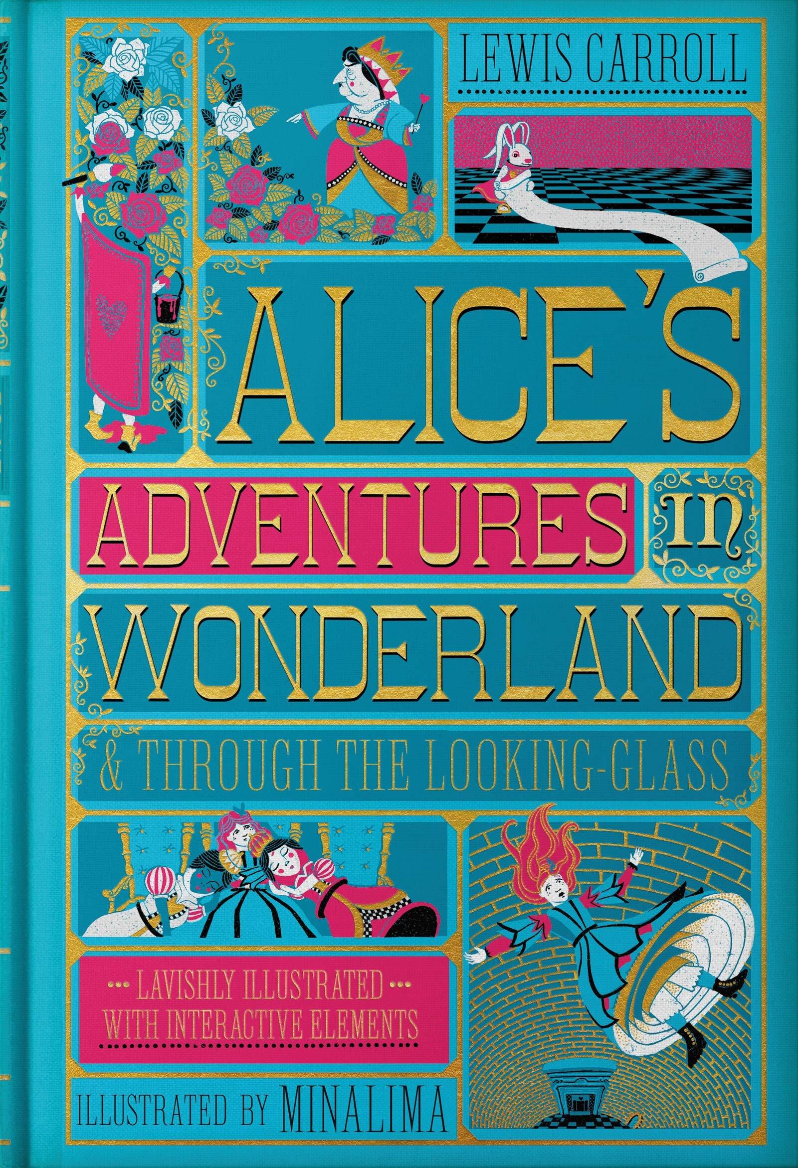 Alice s Adventures in Wonderland   Through the Looking-Glass