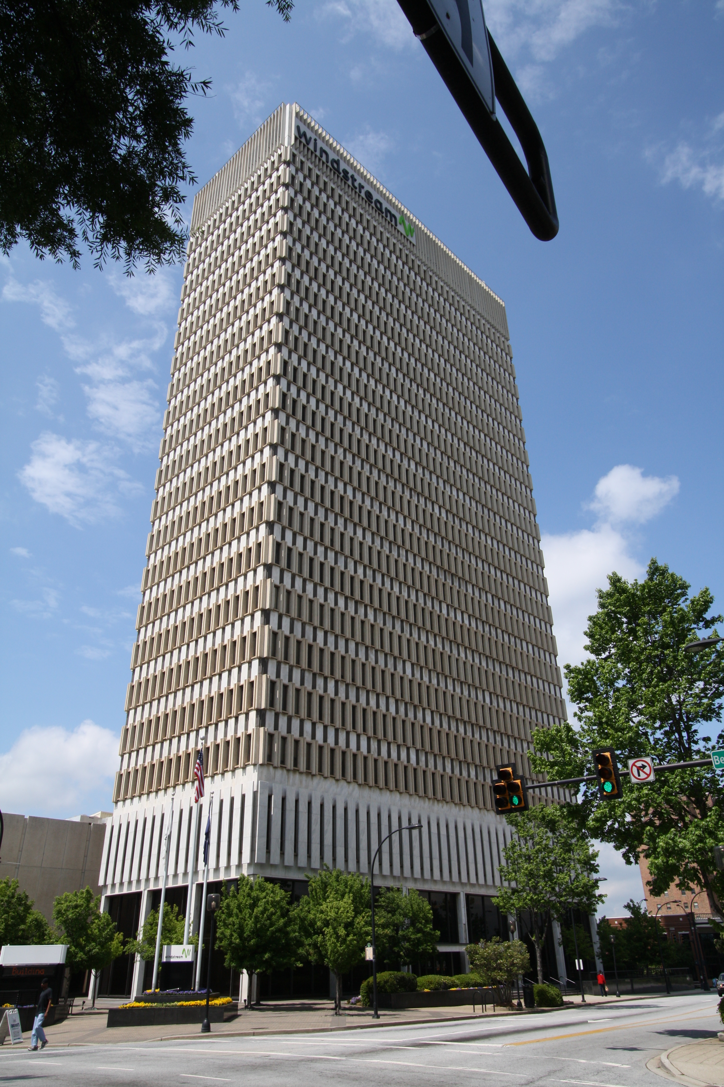 The Landmark Building - Greeneville, SC - Built in 1966 - 22 Stories - International Style - Commercial Office Use