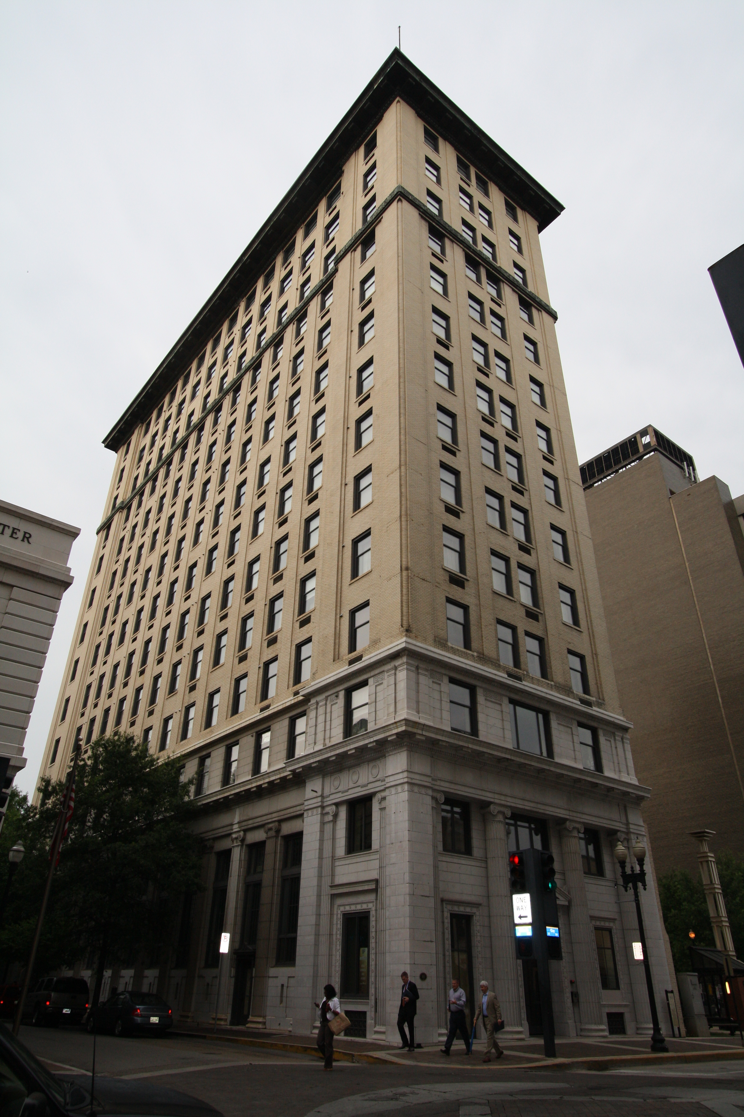 The Holston - Knoxville, TN - Built in 1912 - 15 Stories - Neo-Classical Style - Residential/Condo/Restaurant Use