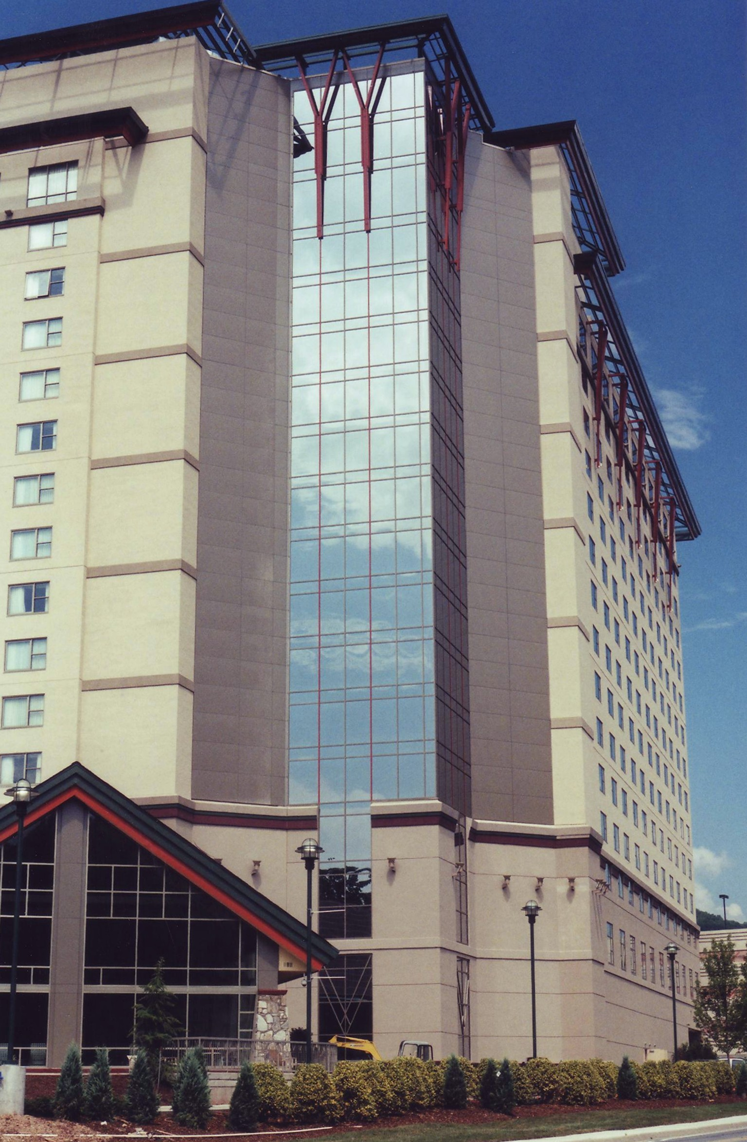 Harrah's Casino & Hotel - Cherokee, NC - Built in 2002 - 15 Stories - Modernism Style - Hotel Casino Use