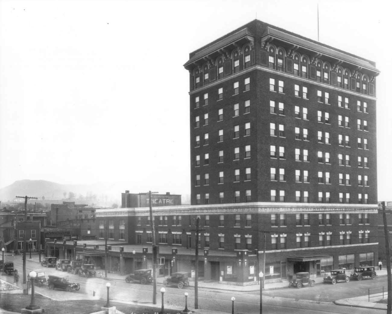 John Sevier Center - Johnson City, TN - Built in 1922 - 10 Stories - Beaux-arts/Historism Style - Senior Living Use