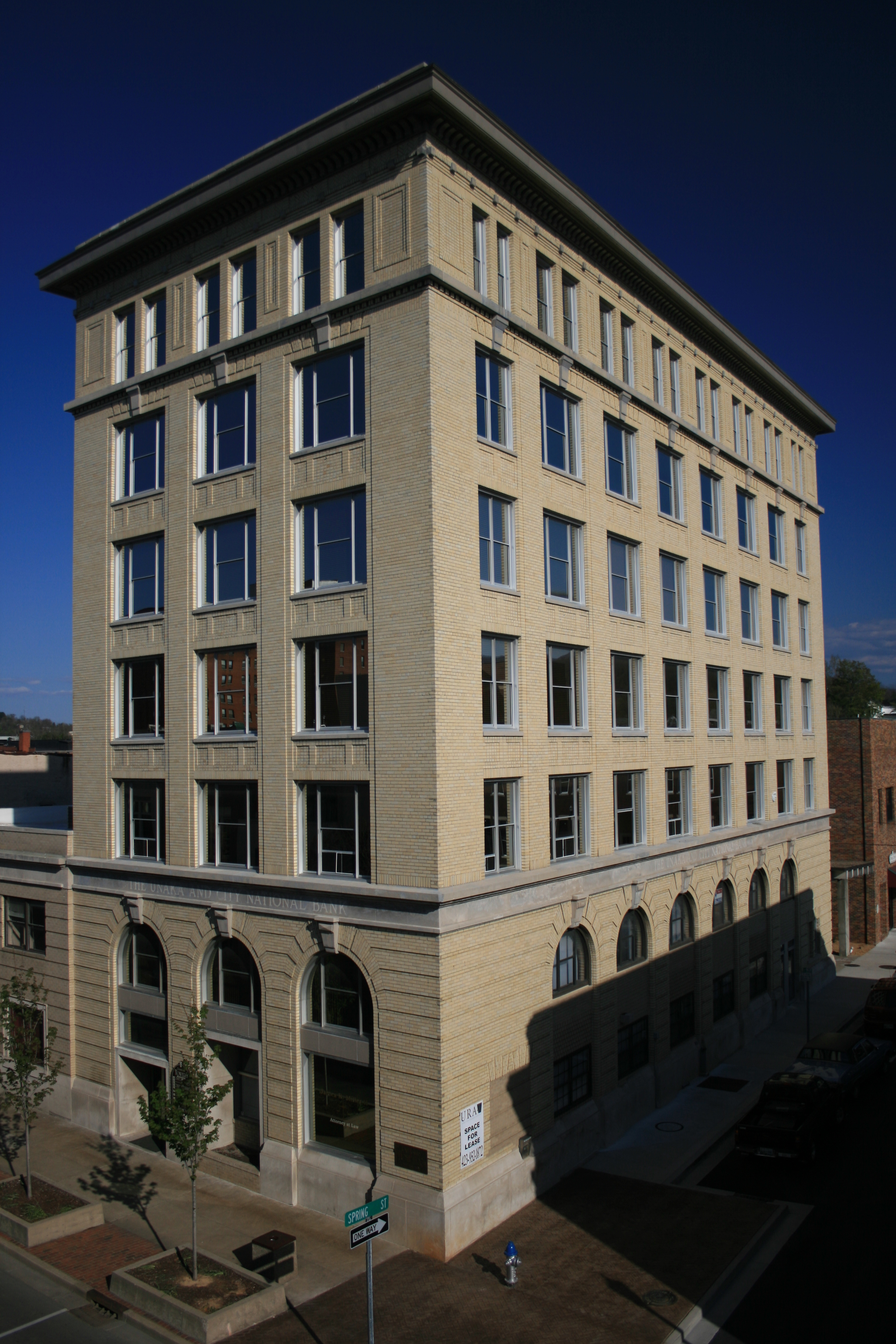 The Downtown Towers - Johnson City, TN - Built in 1921 - 7 Stories - Beaux Arts/Historism Style - Residential/Commercial ffice Use