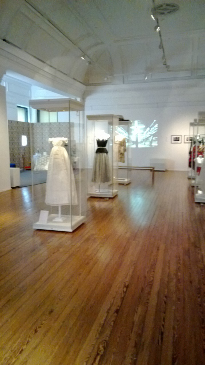 Exhibition on the history of lace in Ayrshire at the Dick Institute in Kilmarnock